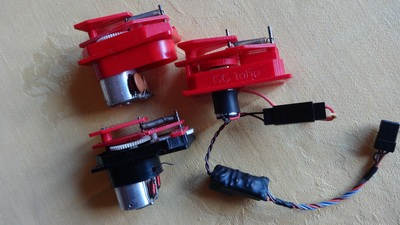 Galloping Ghost RC actuators
