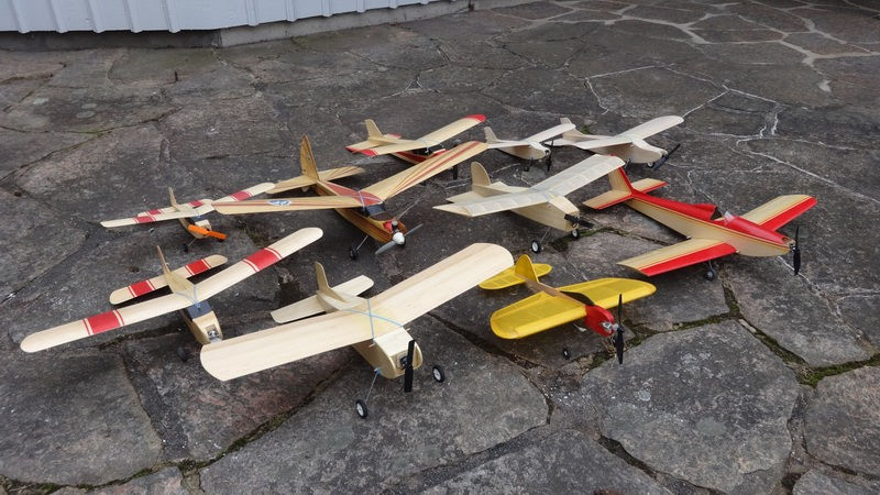Oldtimer RC models