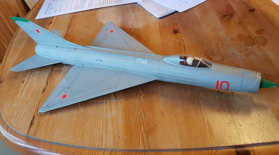 Sukhoi rapier powered model